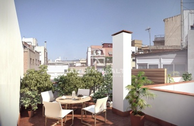 Nuevos apartamentos cerca de la Plaza de la Universidad en Barcelona