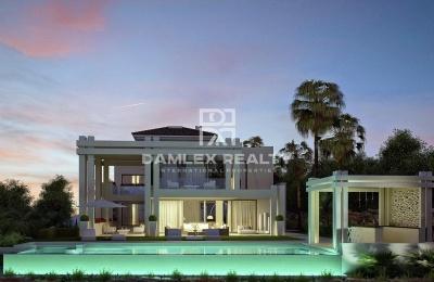 Villa moderna de lujo en una de las mejores urbanizaciones de la Costa del Sol.