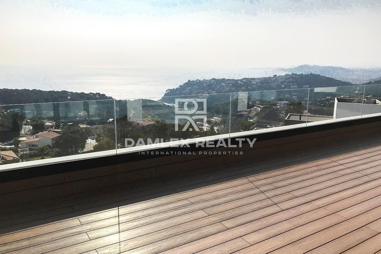 Villa moderna con vistas 180