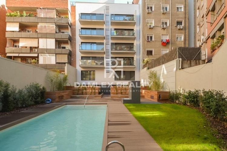 Ultimo apartamento en un edificio nuevo en la zona de Sant Gervasi en Barcelona