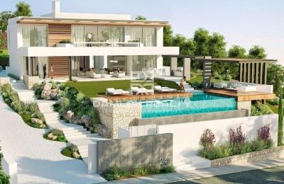 Villa de lujo moderna en la ciudad de Marbella