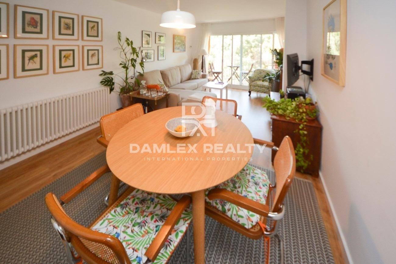 Apartamento totalmente reformado en el centro de Blanes con unas vistas la bosque increibles