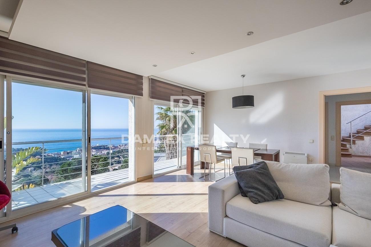 Villa con vistas panorámicas al mar. Lloret de Mar