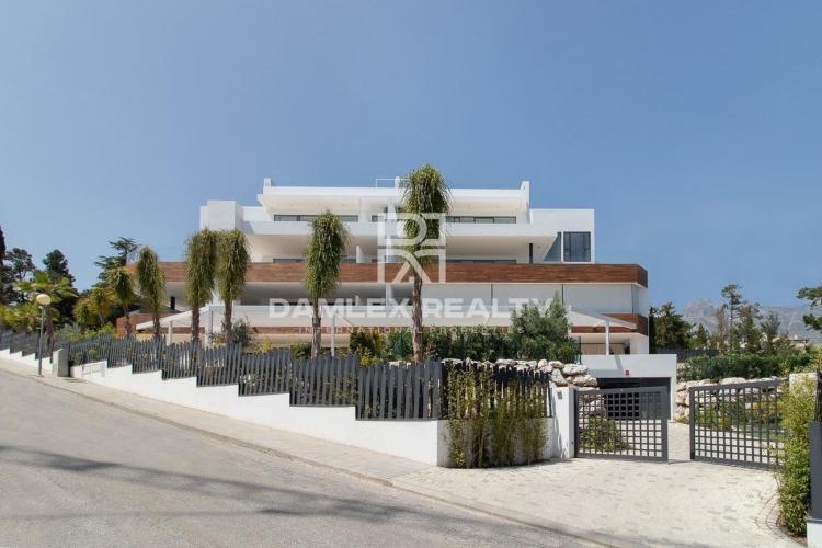 Magníficos apartamentos en un nuevo complejo exclusivo en la Milla de Oro, Marbella