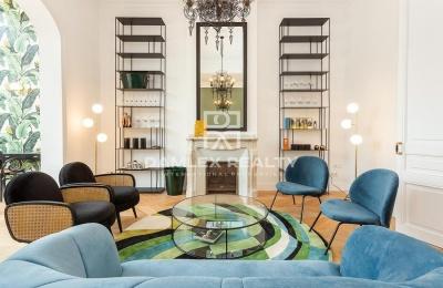Apartamento de lujo en el centro de Barcelona, distrito del Eixample.
