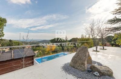 Acogedora casa en una urbanizacion tranquila con vistas al mar en Playa de Aro