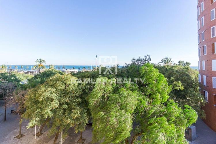 Apartamento con vistas al mar. Vila Olimpica