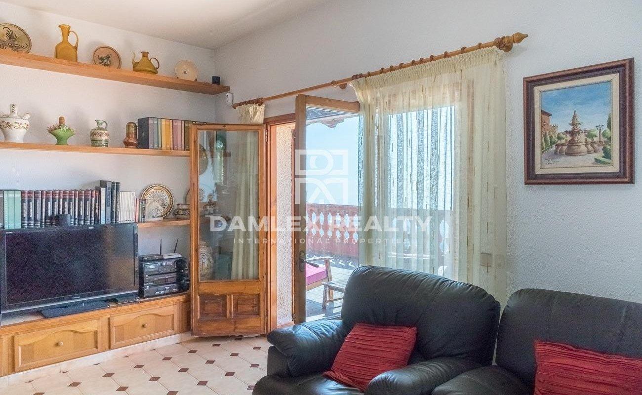 Casa con vistas panorámicas al mar en Lloret de Mar