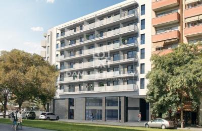 Apartamento de 2 dormitorios en edificio de obra nueva a con piscina