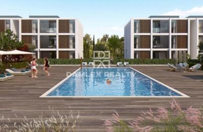 Moderno complejo residencial de apartamentos en la localidad de Playa de Aro.