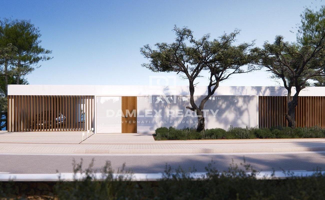 Nueva villa de lujo situada en la muy prestigiosa zona de Cala San Francesc