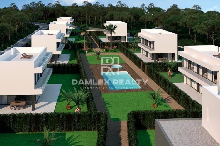 Un complejo de villas modernas en la Costa Brava.