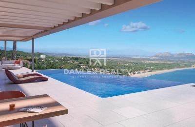 Complejo de villas modernas ubicadas en la zona más impresionante de la Costa Brava.