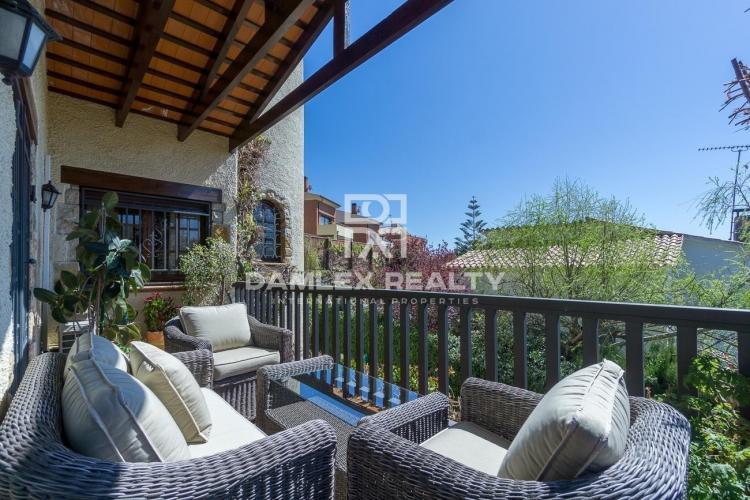 Villa con vistas en una zona tranquila de Vilassar de Dalt