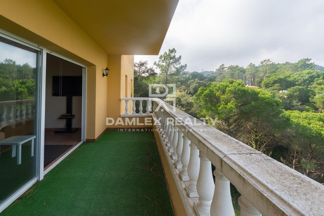 Casa con vistas a la montaña en Lloret de Mar