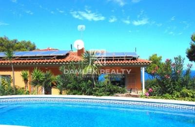 Villa con vistas al mar en la localidad de Begur.