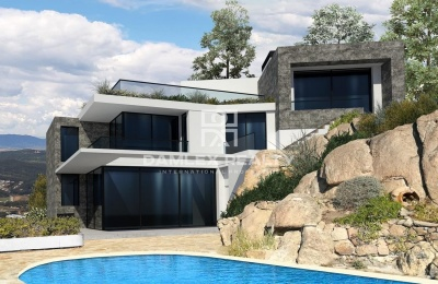 Lujosa villa de arquitecto con vistas panoramicas al mar