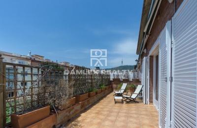 Magnifico ático de 376 m2 en una de las mejores zonas de Barcelona.
