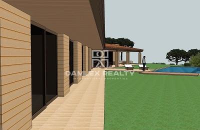 Villa prestigiosa de una sola planta con vista panorámica al mar