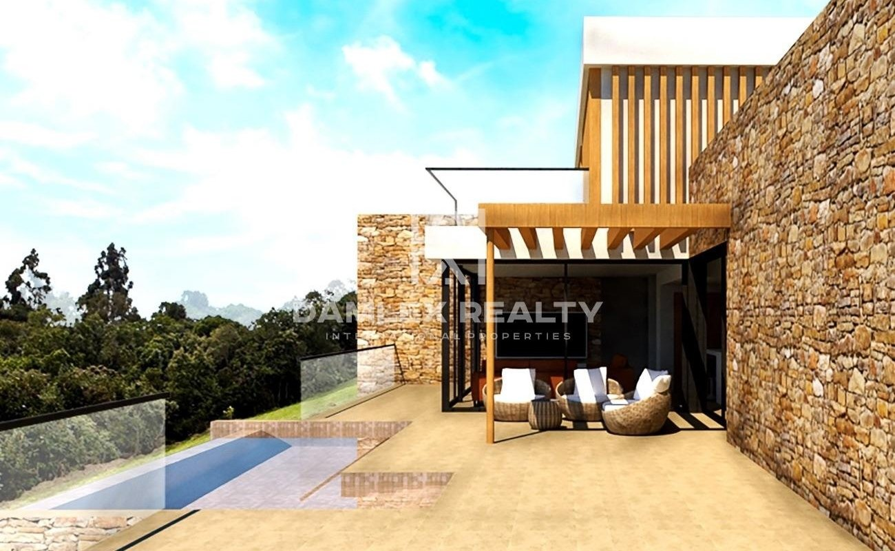 Lujosa villa estilo moderno con vistas al mar