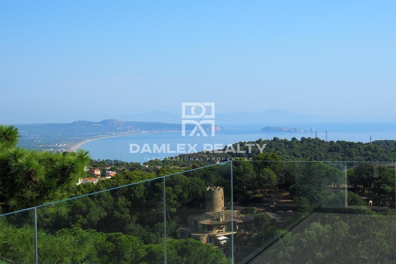 Villa ultramoderna con impresionantes vistas al mar, Costa Brava