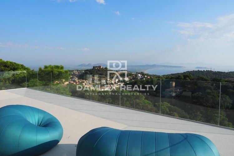 Villa 51, Villa ultramoderna con impresionantes vistas al mar, Costa Brava