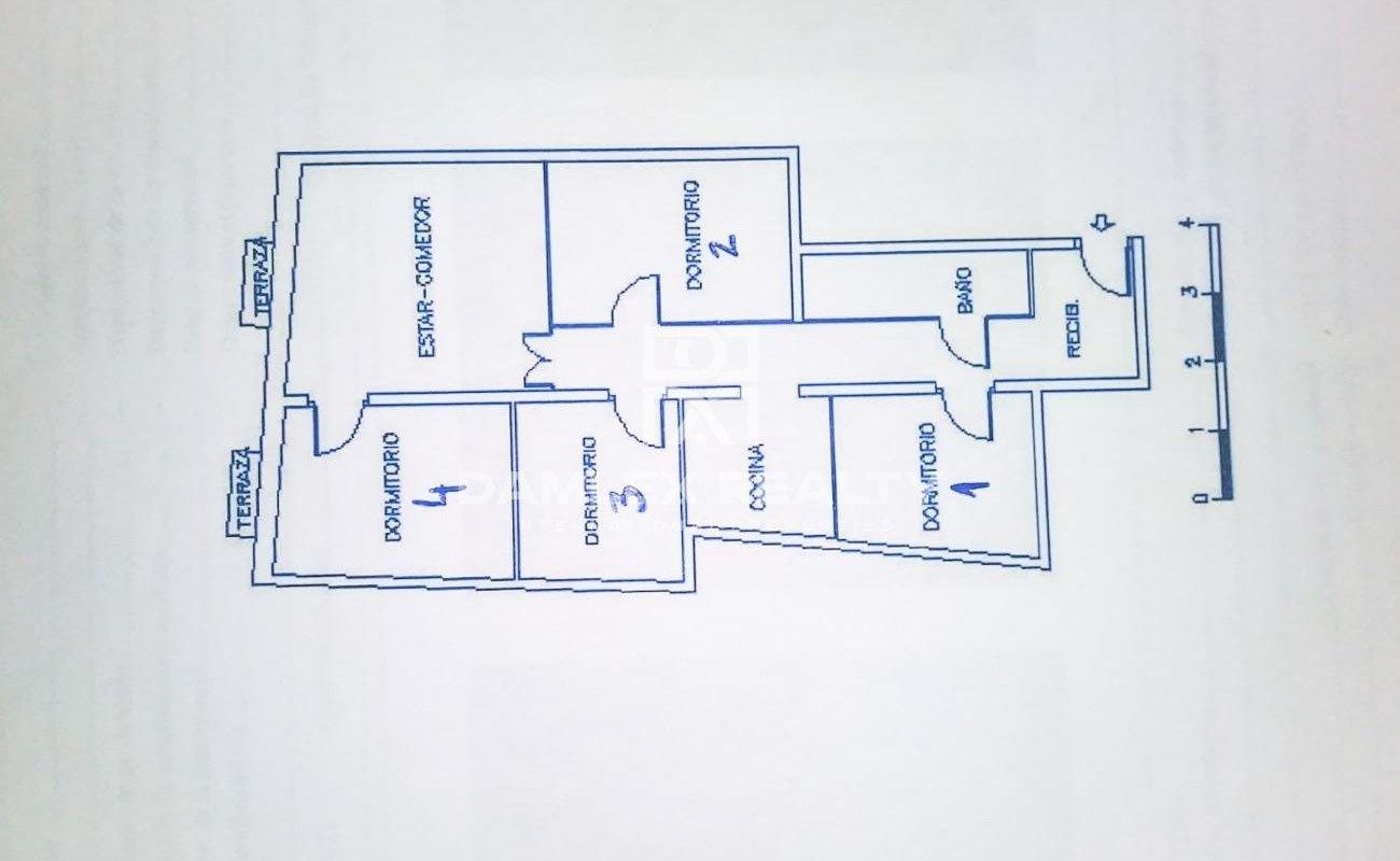 Apartamento reformado en Poble Sec