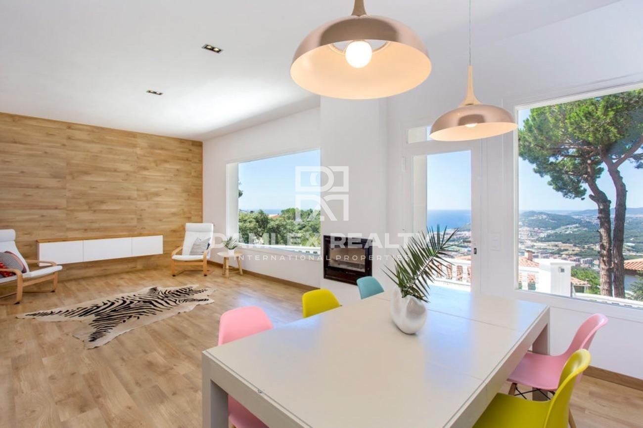 Maravillosa casa con vistas al mar en Lloret de Mar
