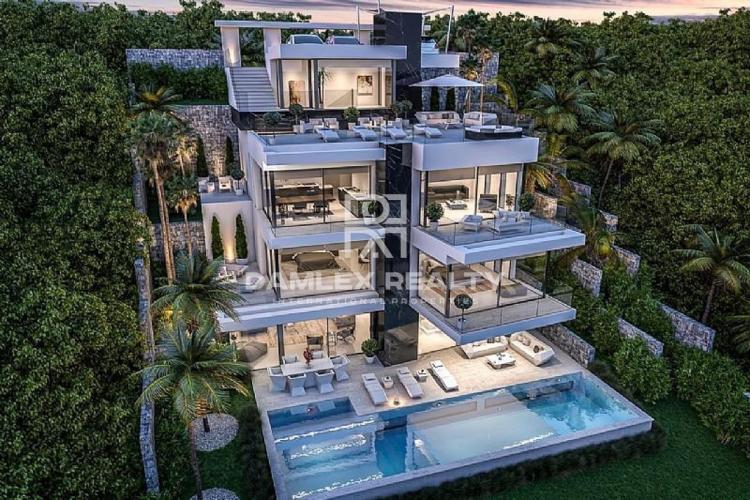 Nueva villa moderna en primera línea de mar en Javea