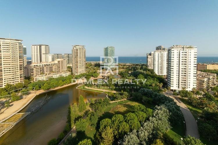 Apartamento en complejo cerrado en Diagonal Mar