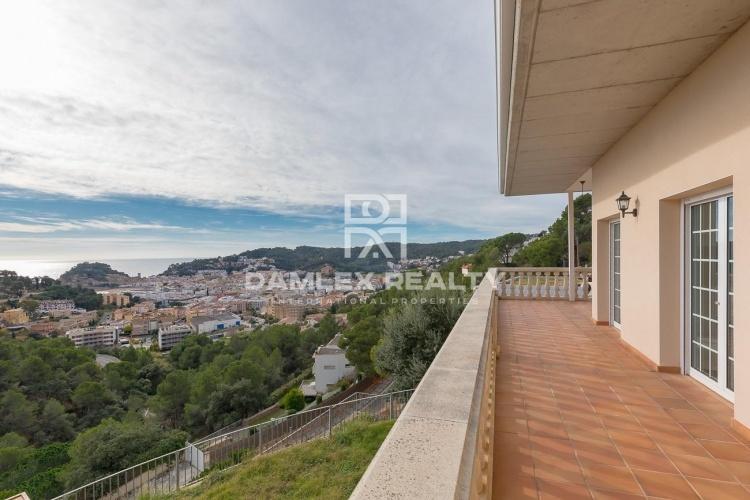 Casa con una hermosa vista de la bahía de Tossa de Mar