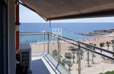 Apartamento con vistas al mar en Badalona