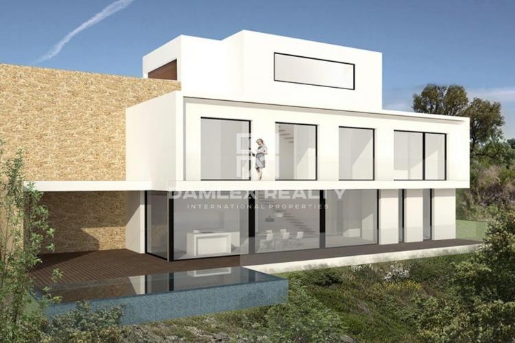 Villa contemporanea en primera linea de mar