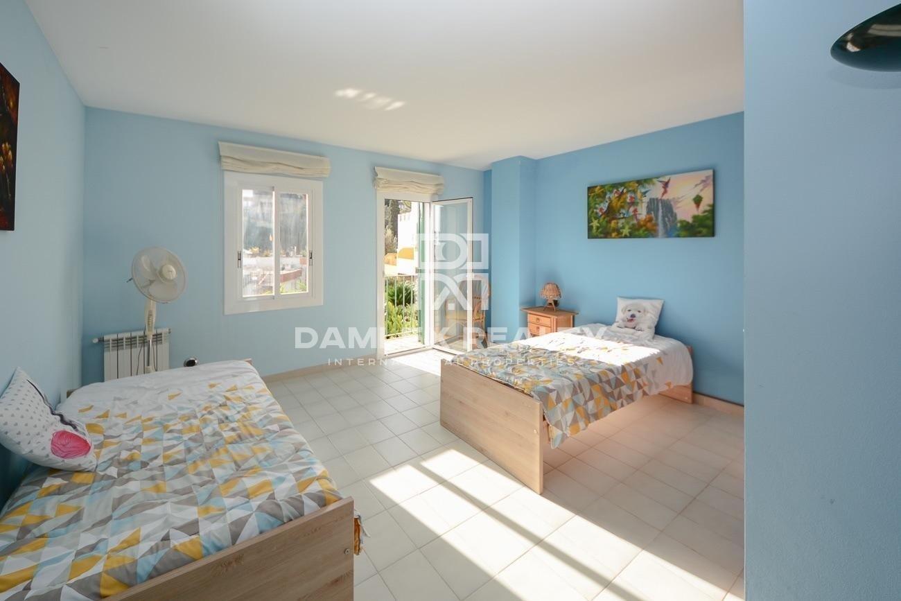 Casa adosada con vista mar en Tossa