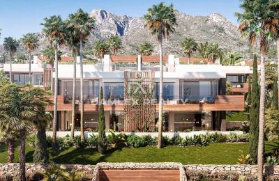 Villa pareada a estrenar junta a Sierra Blanca, Marbella