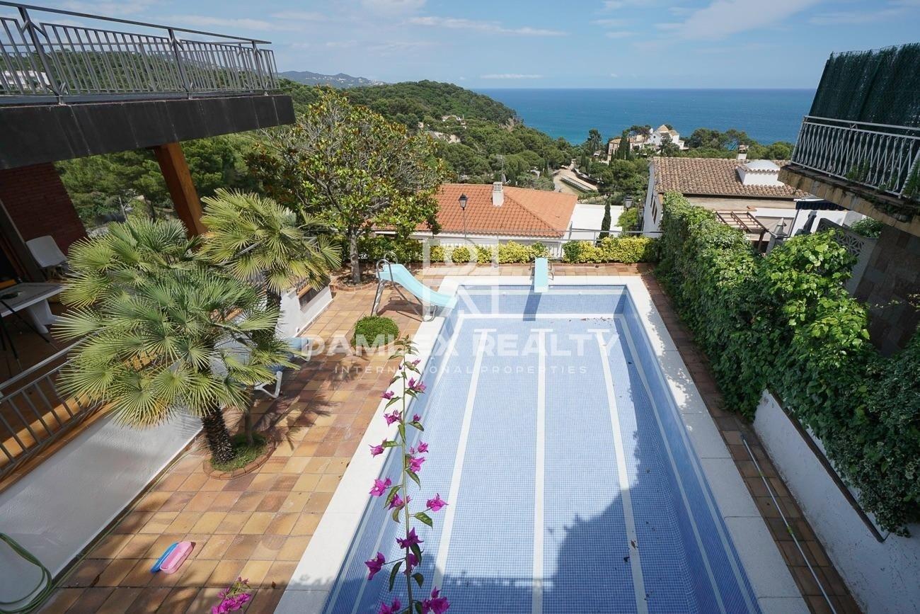 Casa con impresionantes vistas al mar en Santa Cristina, Blanes