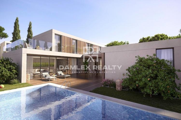 Villa moderna en S`Agaro cerca de la playa