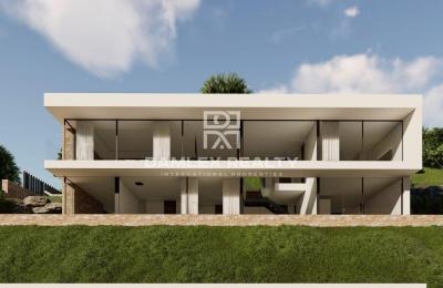 Nueva villa con impresionantes vistas panorámicas en Playa de Aro
