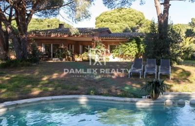 Casa con piscina en Cabrils