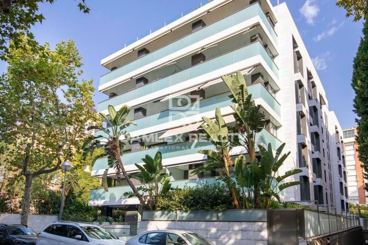Apartamento de lujo en una prestigiosa zona de Barcelona