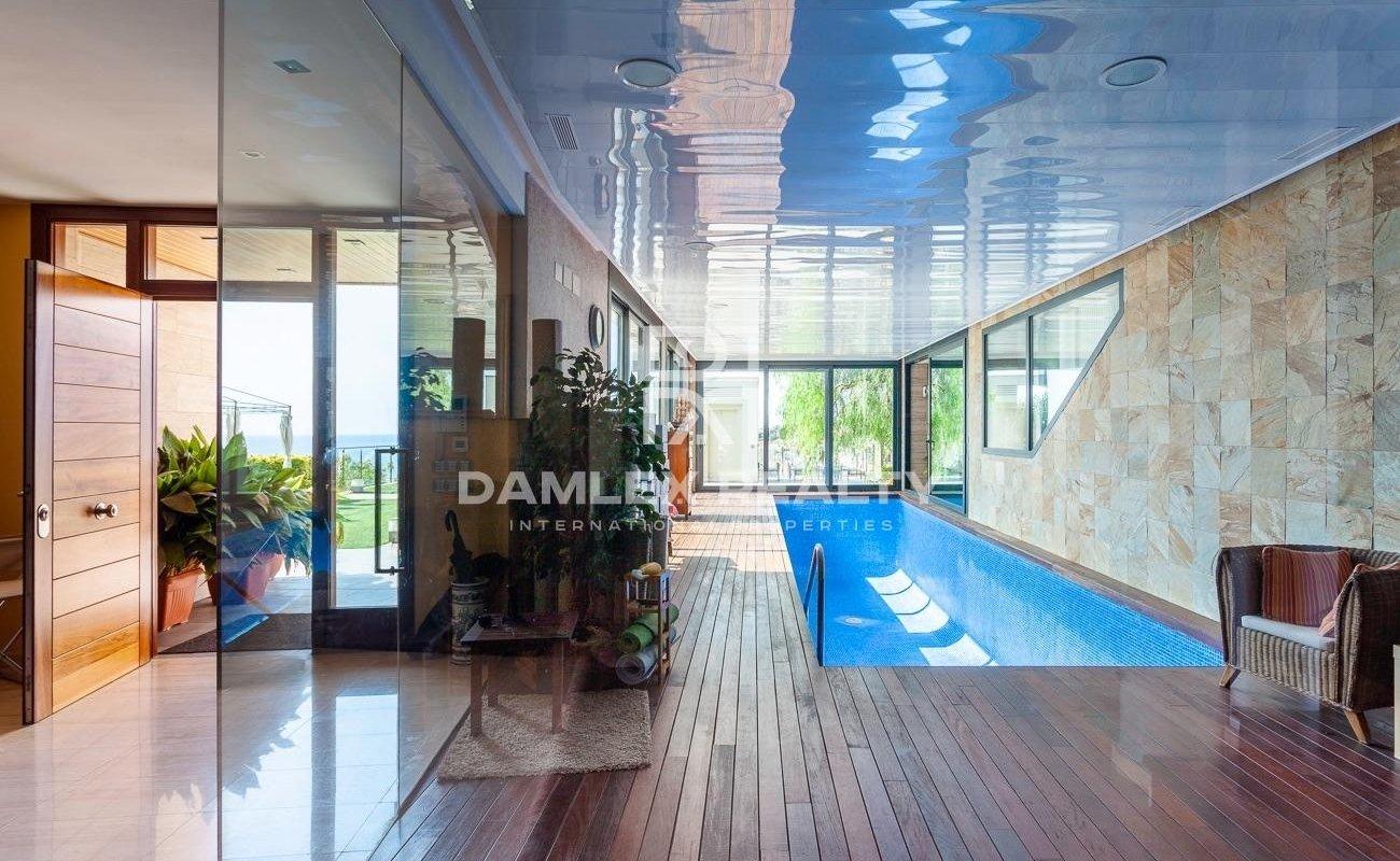 Villa de lujo con vistas al mar en Blanes