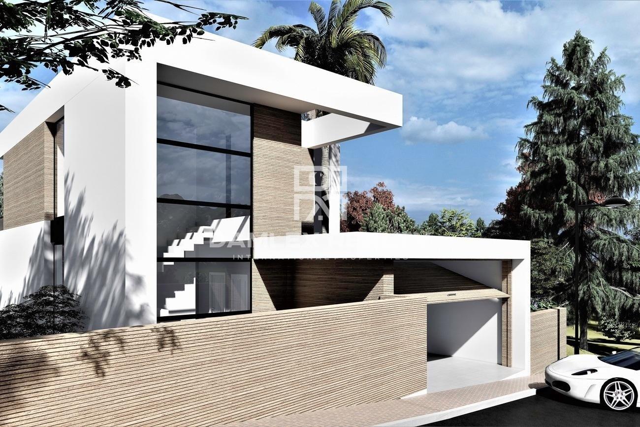 Magnífica villa de diseño moderno a 1 km de la playa