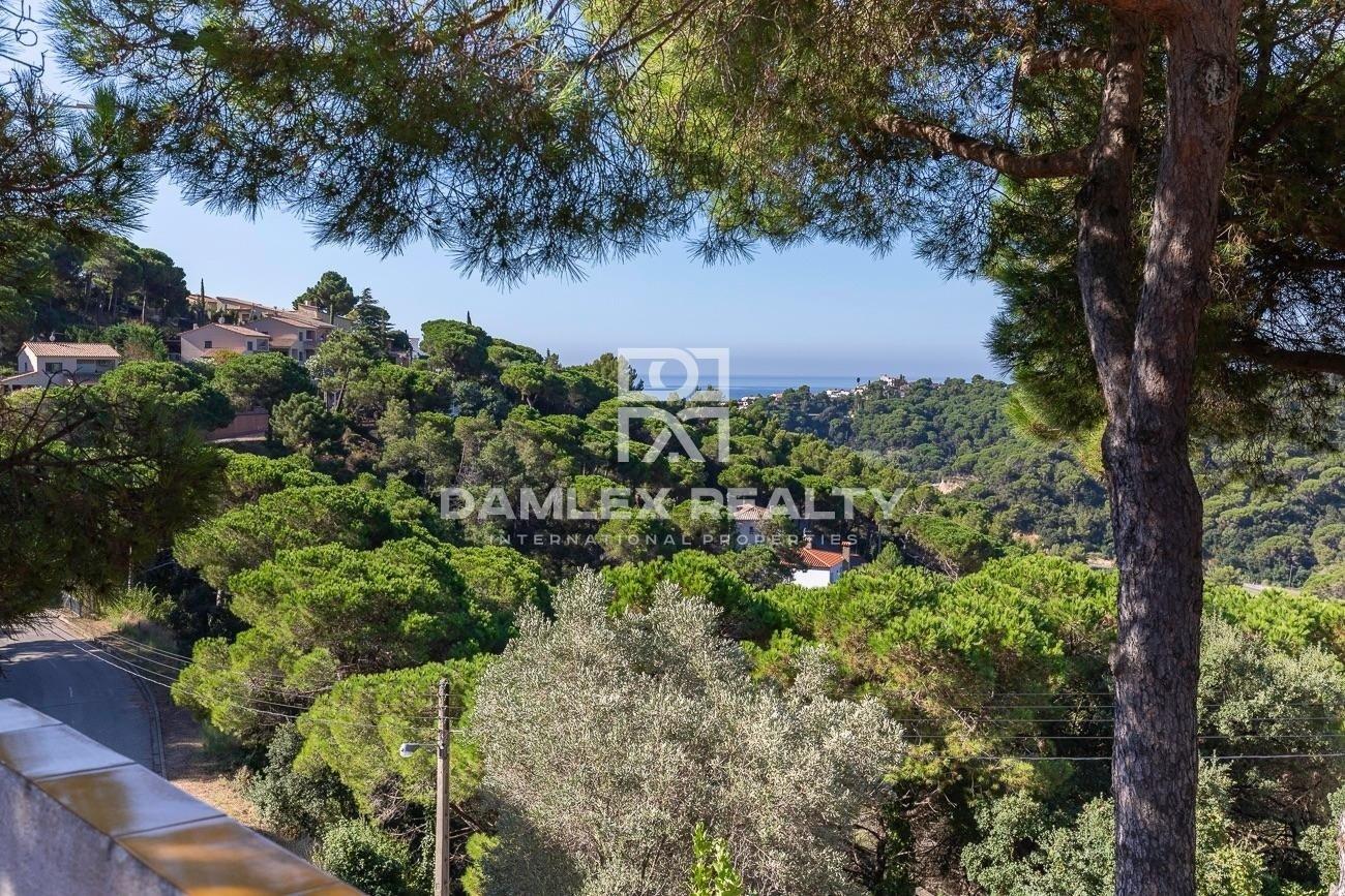 Casa con vistas al mar en Lloret de Mar, Font de Sant LLorenç