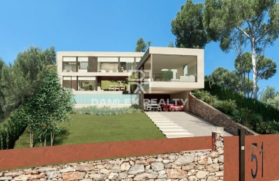 Magnífica villa con impresionantes vistas al mar en Playa d`Aro