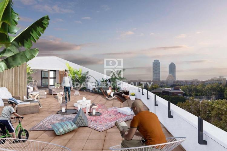 Nuevos apartamentos modernos cerca de la playa en Barcelona