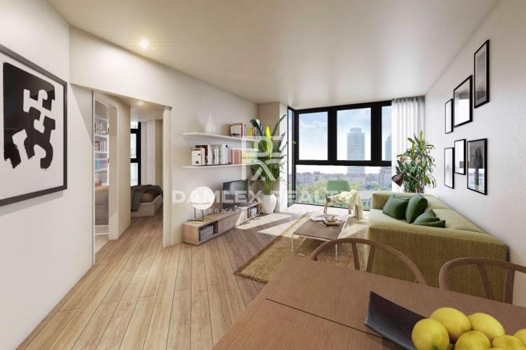 Nuevos apartamentos en el barrio de Vila Olimpica de Barcelona