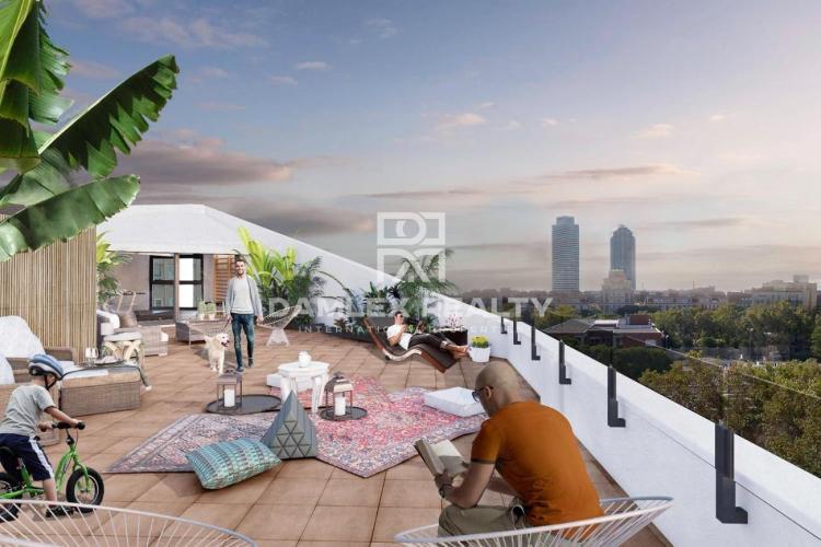 Amplio apartamento nuevo en la zona de Vila Olimpica