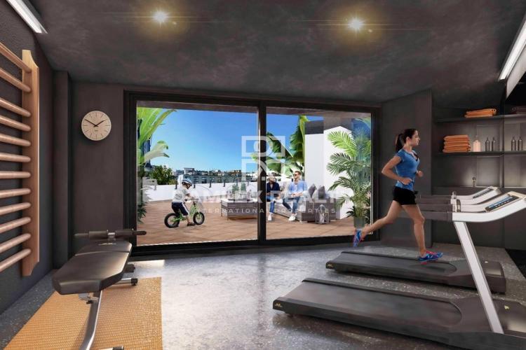 Apartamento nuevo moderno en el barrio maritimo de Barcelona