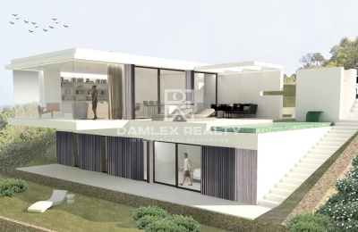 Villa de diseño moderno en Begur
