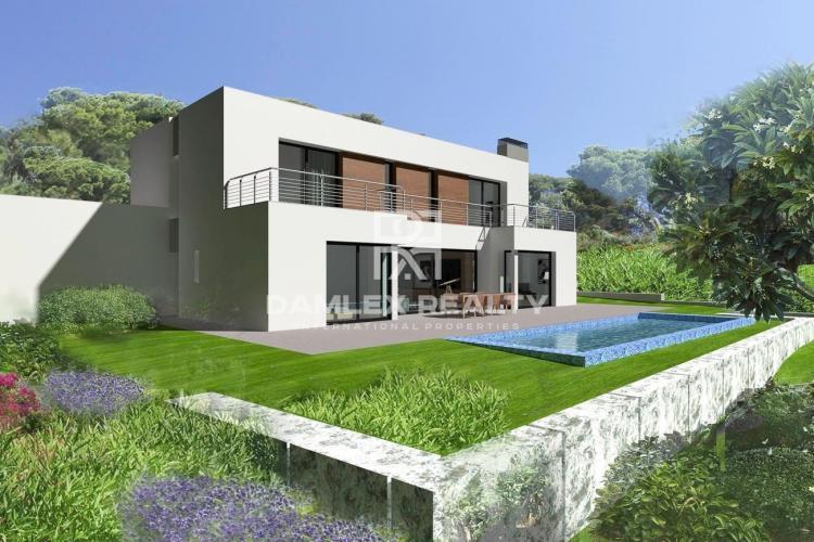 Villa en construcción, en una prestigiosa zona de Platja d`Aro